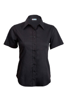 Women's Short Sleeve Button-Down Shirt