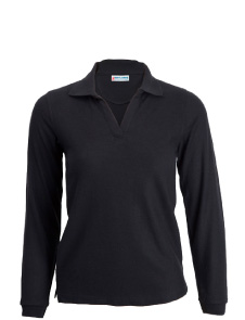 Women's Long Sleeve Polo Shirt