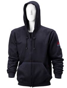Premium FR full zip hooded fleece jacket