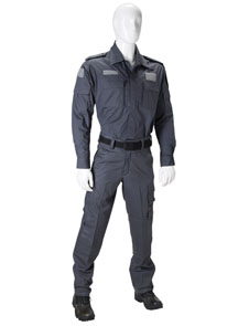 Civil police or security personnel uniform