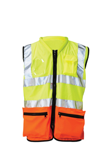 Tiger managers two tone HV vest